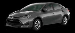 2018 Toyota Corolla CE  - $153.22 B/W