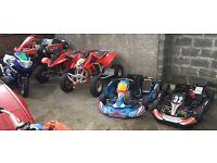 ROAD QUADS TRX450R - TRX 600cc Ninja powered , K2 GSXR 600