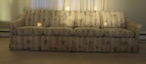 Down Filled Custom Built Long Couch (4 Cushions) Only $70