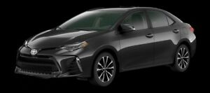 2017 Toyota Corolla SE  - Upgrade Package -  Moonroof - $134.84