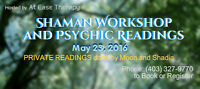 PRIVATE Readings with Psychic, Clairvoyant, Medium