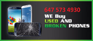 BUYING USED OR CRACKED OR DEAD PHONES SAMSUNG LG IPHONE