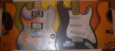 2006 Eric Clapton - MSG Silkscreen Concert Poster Set by Firehouse Chuck Sperry