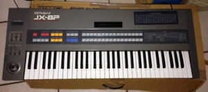 Roland JX8P Analog Poly Synth + Vintage Roland Keyboard Amp