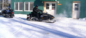 Snowmobile Rental and STAY - HOT TUB