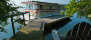 HOUSEBOAT IN ONTARIO  FOR CANADA DAY - TRANSFER OF RESERVATION