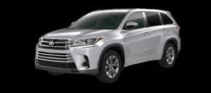 2017 Toyota Highlander LE  - $274.37 B/W