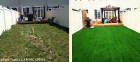 Free Lawn Maintenance Package With Sod Installation over 500SQFT