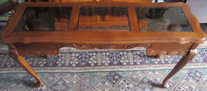 Solid maple Queen Anne-style coffee table 4 sale