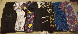 Size sm scrub tops and bottoms