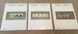 1979, 1980, 1981 Souvenir Collection of Postage Stamps of Canada