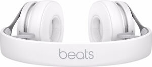 White and silver dr dre beats