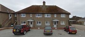 Lossiemouth - unfurnished 2 bedroomed flat, newly refurbished