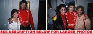 MICHAEL-JACKSON-1983-w-FAMOUS-FRIENDS-2xRARE8x10-PHOTOS
