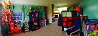 4 year old space available in licensed facility