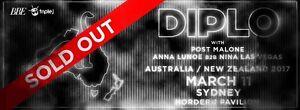 Diplo concert Sydney City Inner Sydney Preview