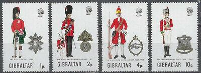 Gibraltar Scott 276-9 MNH LotBDP12916