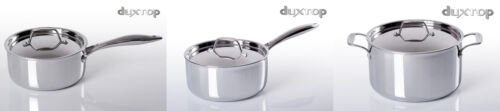 Duxtop Whole-Clad Stainless Steel Induction Ready Saucepan W