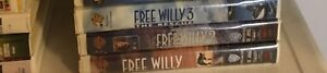 Free Willy VHS Movie Collection