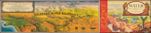 Metropolitan Water District Colorado River Aqueduct 1935 Expo Souvenir 50315