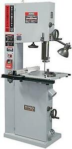 "17"" Variable Speed Wood / Metal Bandsaw Guide - King KC-1700WM-VS"