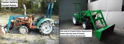 TRACTOR PAINT 4 LT BRUSH ROLL OR SPRAY EASY TO USE HARD FINISH