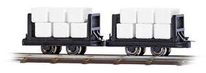 Busch-12212-DOS-Vagon-con-Balas-H0F-NUEVO-EN-EMB-orig
