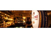 Full/Part time waiting staff required for independent, Lace Market restaurant & bar.