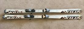 Genuine Rossignol STS Axium skis with Sigma S10 bindings