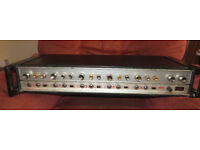 H H MA100 P.A. MIXER AMP 100W. RARE / VINTAGE