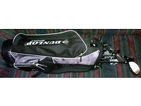 Golf Set of Dunlop True Tech Men's Clubs with Dunlop Bag - good condition
