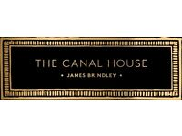 KITCHEN STAFF - THE CANAL HOUSE - NEW OPENING