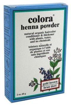 Colora Henna Powder All Natural Hair Color 60g Gold Brown   eBay