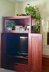 Large TV cabinet & coffee table
