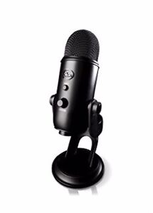 Black Yeti Microphone