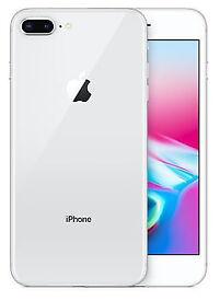 iPhone Plus 8 - 256GB - Silver - (Unlocked) - Free Shipping