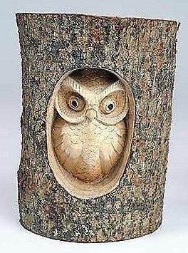 Owl Wood Carving Ebay