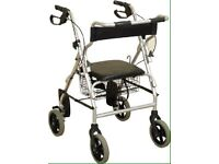 NRS 2 in 1 Rollator and Chair