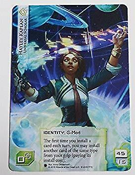 NM-Mint Android: Netrunner Cards M Scorched Earth Alternate Art Promo English
