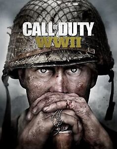 Looking for early copy of call of duty WWII