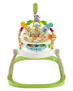 Fisher Price rainforest jumperoo  space saver
