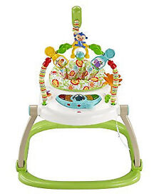 FISHER PRICE JUMPEROO IN GREAT CONDITION (SPACE SAVER)