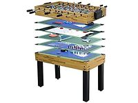 Walker & Simpson 4ft Gamesmaster 12 in 1 Games Table - BRAND NEW