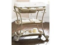 Mamas&Papas baby bath and changing table all in one