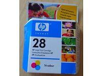 HP Inkjet Cartridge number 28 (Tri-colour)