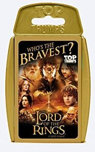 Top Trumps Lord of the Rings Family Card Game Brand New Sealed