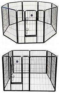 "40"" high 8 panel Dog Pen for sale with door"