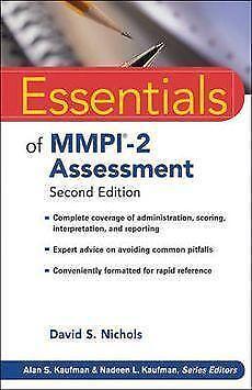 Mmpi 2 books ebay fandeluxe Images