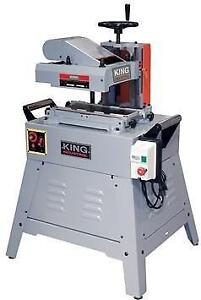 "7"" Industrial planer/moulder - King Canada KC-240M"