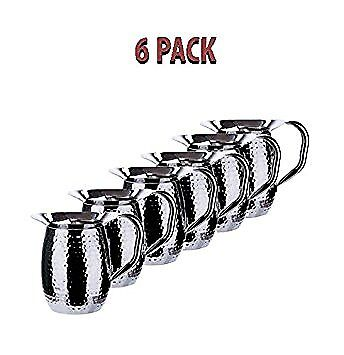 3 Quart Bell (Winco WPB-3H, 3-Quart Hammered Bell Pitcher, Stainless Steel (6 PACK) )